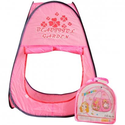Barraca Infantil Divertida Rosa 92x66cm Para Crianças com +3 Anos - Importway