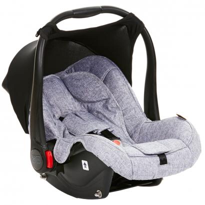 Bebê Conforto ABC Design Nascimento Até 18 Meses Protetor Solar Resistente Agua Risus Graphite Grey