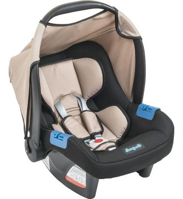 Bebê Conforto Burigotto Touring Evolution SE Bege e Preto