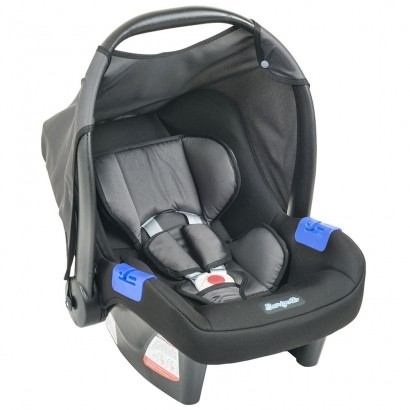 Bebê Conforto Burigotto Touring Evolution SE Preto e Cinza
