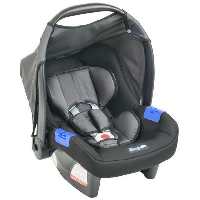 Bebê Conforto Burigotto Touring Evolution SE Preto e Cinza IXAU3044PR09