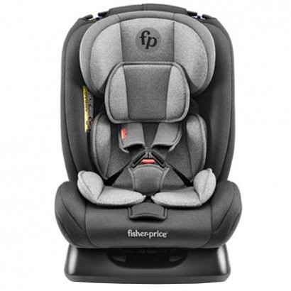 Bebê Conforto Cadeirinha Auto Bebê 0 até 36Kg Fisher Price Mass Preto/Cinza