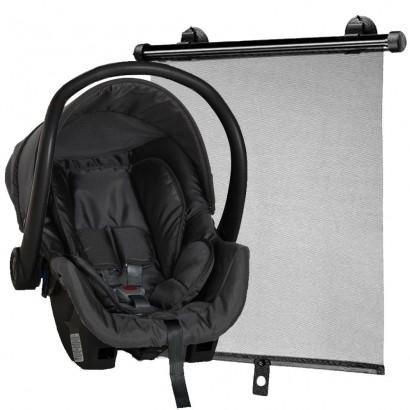 Bebê Conforto Cadeirinha Galzerano Cocoon 0-13 Kg Preto 8181 + Protetor Solar