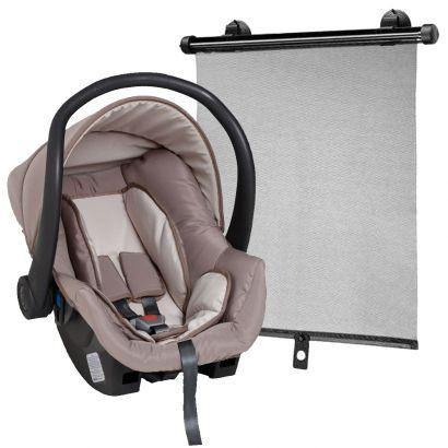 Bebê Conforto Galzerano Cocoon 0 a 13kg Cappuccino 8181 PCAP + Protetor Solar