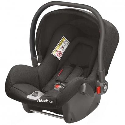 Bebê Conforto para Auto Cadeirinha Heritage Fix De 0 a 13kg Preta Fisher-Price