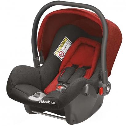 Bebê Conforto para Auto Cadeirinha Heritage Fix De 0 a 13kg Vermelha Fisher-Price