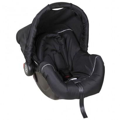 Bebê Conforto Cadeirinha Auto Carro 0 Até 13Kg Dispositivo de Retenção Piccolina Galzerano Preto