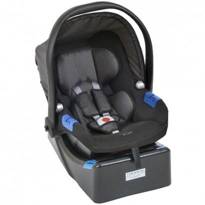 Bebê Conforto Touring X Dark Gray De 0 a 13kg + Base Para Auto Touring - Burigotto