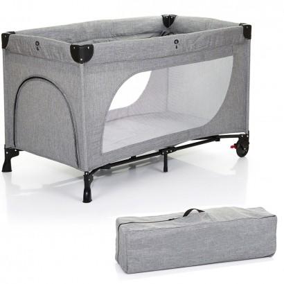 Berço de Bebê Infantil Portátil Até 15Kg Viagem Moonlight Grey - Abc Design