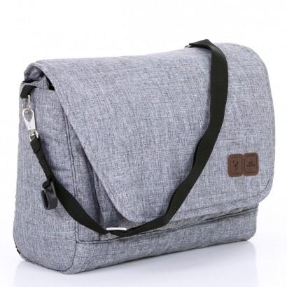 Bolsa Maternidade Fashion Bag Diversos Compartimentos Graphite Grey - Abc Design