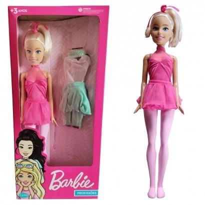 Boneca Barbie Bailarina 70 Centimetros Grande Com Acessorios Brinquedo Large Doll Matell Pupee