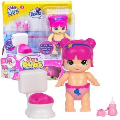 Boneca Bizzy Bubs Playset Ester Espertinha Dtc 4649