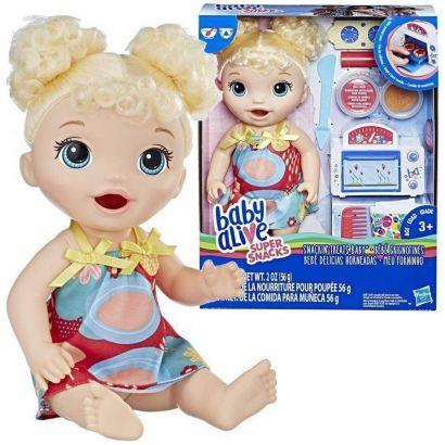 Boneca Cabelo Loiro Baby Alive Forninho Hasbro E1947