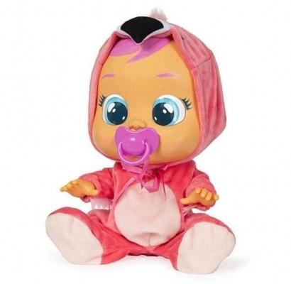 Boneca Cry Babies Flamy Que Chora de Verdade Para Bebe - Multikids