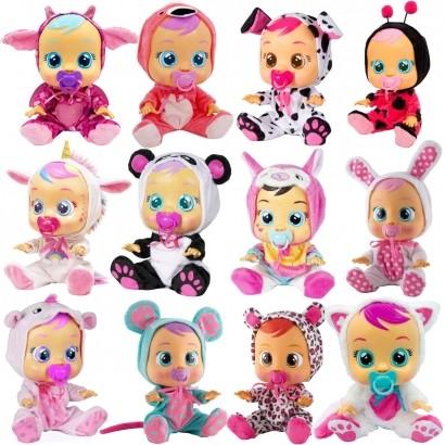 Boneca Cry Babies Que Chora de Verdade Para Bebe - Multikids