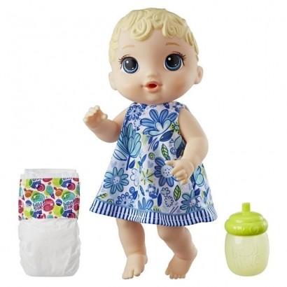 Boneca Loira Baby Alive Hora do Xixi Hasbro E0385