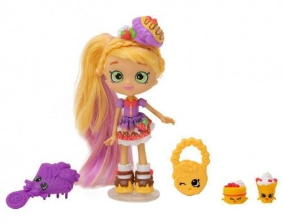 Boneca Shopkins Shoppies Pati Keca + 2 Shopkins Exclusivos DTC 3735