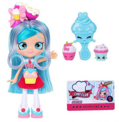 Boneca Shoppies Jessicake Chef Club - Dtc 4435