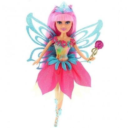 Boneca Sparkle Girlz Fada Das Flores Carla com Acessórios DTC 4804