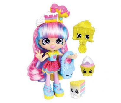 Boneca Shopkins Shoppies Kate Íris + 2 Shopkins Exclusivos DTC 3735