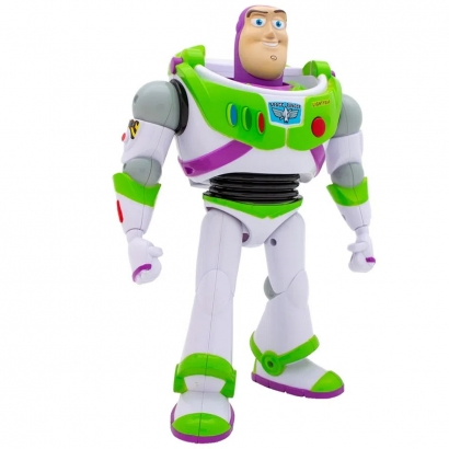 Boneco Brinquedo Infantil Buzz Lightyear Toy Story +3 Anos Toyng