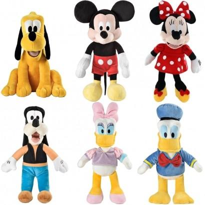 Boneco De Pelúcia Infantil Disney Com Som 33cm Multikids