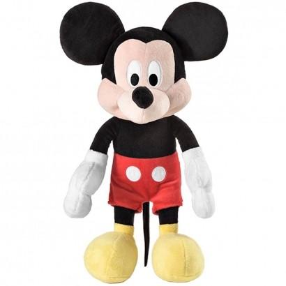 Boneco De Pelúcia Mickey Disney Com Som Multikids 33cm Br332