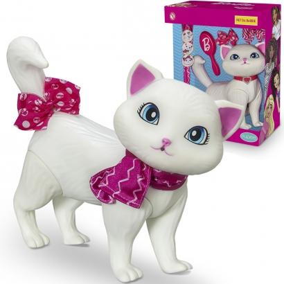 Boneco Pet da Barbie Blissa Fashion Gatinha Brinquedo com 5 Acessórios +3 anos Pupee