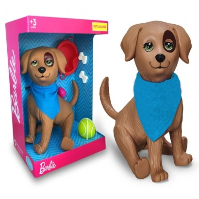 Boneco Pet da Barbie Rookie Cachorro +3 Anos - Mattel Pupee