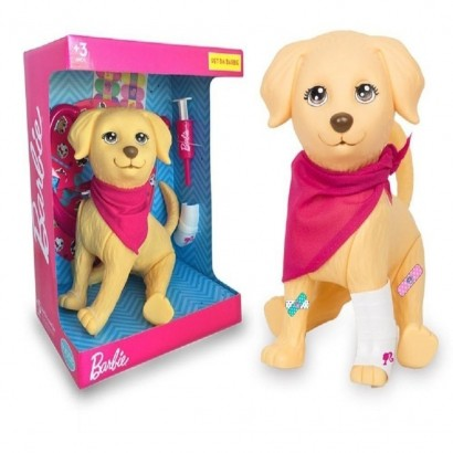 Boneco Pet Veterinario Da Barbie +3 Anos - Mattel Pupee