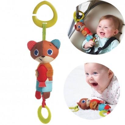 Brinquedo Bebê Infantil Para Carrinho Bebê Conforto Berço Gancho Chocalho Wind Chime Isaac Tiny Love