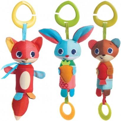 Brinquedo Bebê Infantil Para Mobile Carrinho Bebê Conforto Berço Gancho Chocalho Wind Chime - Tiny Love