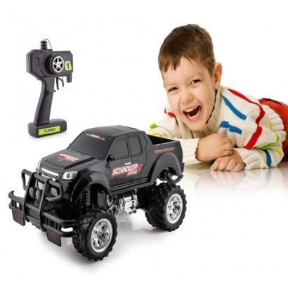 Brinquedo Carrinho de Controle Remoto Pick Up Monster Para Crianças - Polibrinq