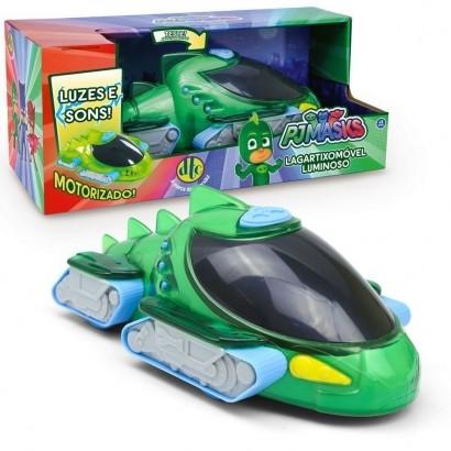 Brinquedo Carro Luminoso Largatixomóvel Pj Masks Dtc 4664