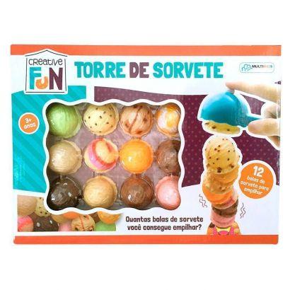 Brinquedo Creative Fun Torre de Sorvete Multikids BR645