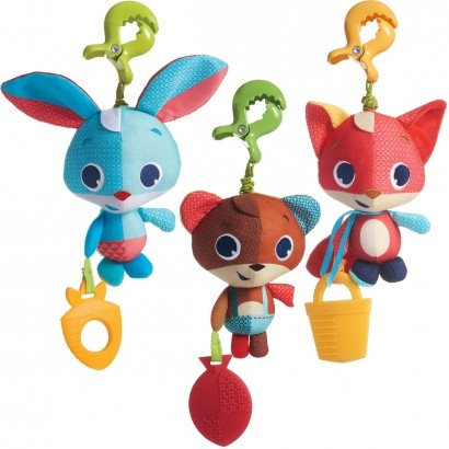 Brinquedo de Bebê para Berço, Carrinho, Cercado Jitter - Tiny Love