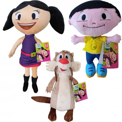 Brinquedo de Pelucia Show Da Luna - Todos Os Personagens - Multikids