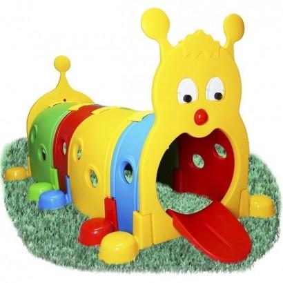 Brinquedo de Playground Infantil Túnel Centopeia 105x175cm Crianças A Partir +3 Anos - Brinqway
