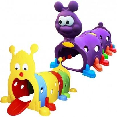 Brinquedo de Playground Infantil Túnel Centopeia Crianças A Partir +3 Anos - Brinqway