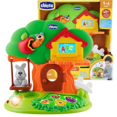Brinquedo Educativo Bilíngue Musical Criança Bebê 1 Ano Até 4 Anos A Casa Do Coelho Chicco