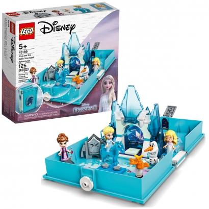 Brinquedo Frozen Lego Livro de Aventuras da Elza +5 Anos 125 Peças Disney