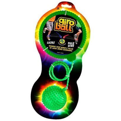 Giroball Brinquedo Com Luzes Pule E Gire Cor Verde Dtc