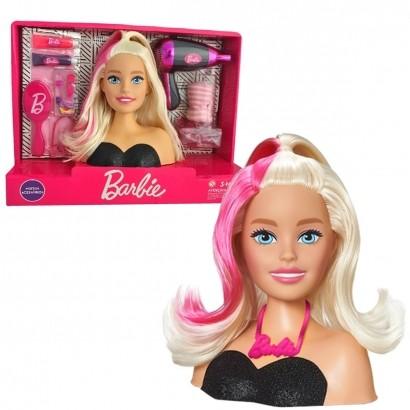 Brinquedo Infantil Barbie Modelando o Cabelo com Acessórios - Pupee