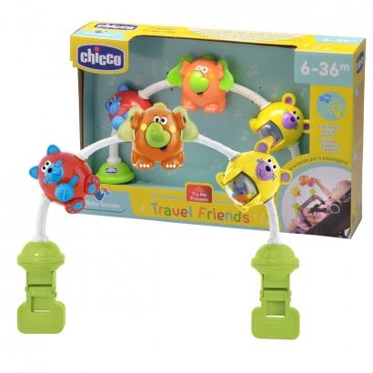 Brinquedo Interativo Musical Bebê 0 - 36 Meses Carrinho Berço Travel Friends Chicco