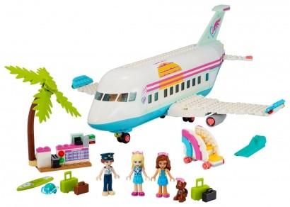 Brinquedo LEGO Amigas Em Viagem Avião De Heartlake City +7 Anos 574 Peças