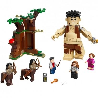 Brinquedo LEGO Harry Potter A Florest Proibida: O Encontro de Grope E Umbridge Até 8 Anos 253 Peças