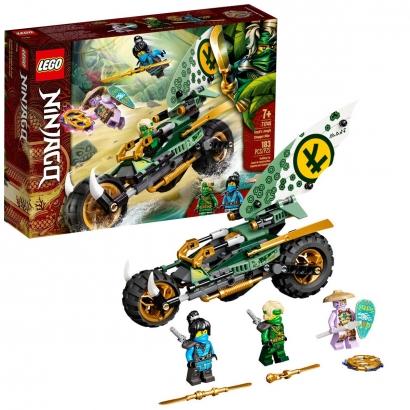 Brinquedo Lego Ninjago Criança Infantil +7 Anos 183 Peças Chopper da Selva de Lloyd