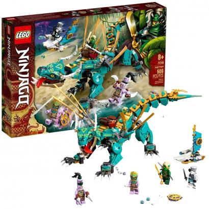 Brinquedo Lego Ninjago Dragão da Selva +8 Anos 506 Peças Criança