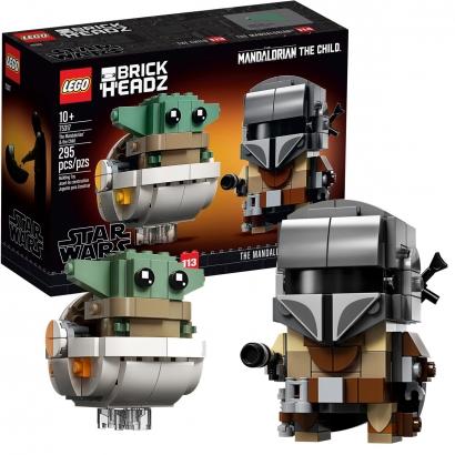 Brinquedo Lego Star Wars Yoda Bebê +10 Anos 295 Peças O Mandaloriano e a Criança