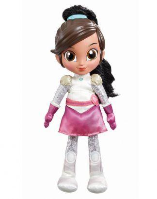 Boneca Nella Princesa Cavaleira Corajosa Fala E Canta Dtc 4691